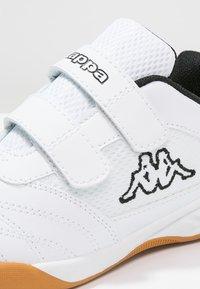 Kappa - KICKOFF  - Sportovní boty - white/black - 5