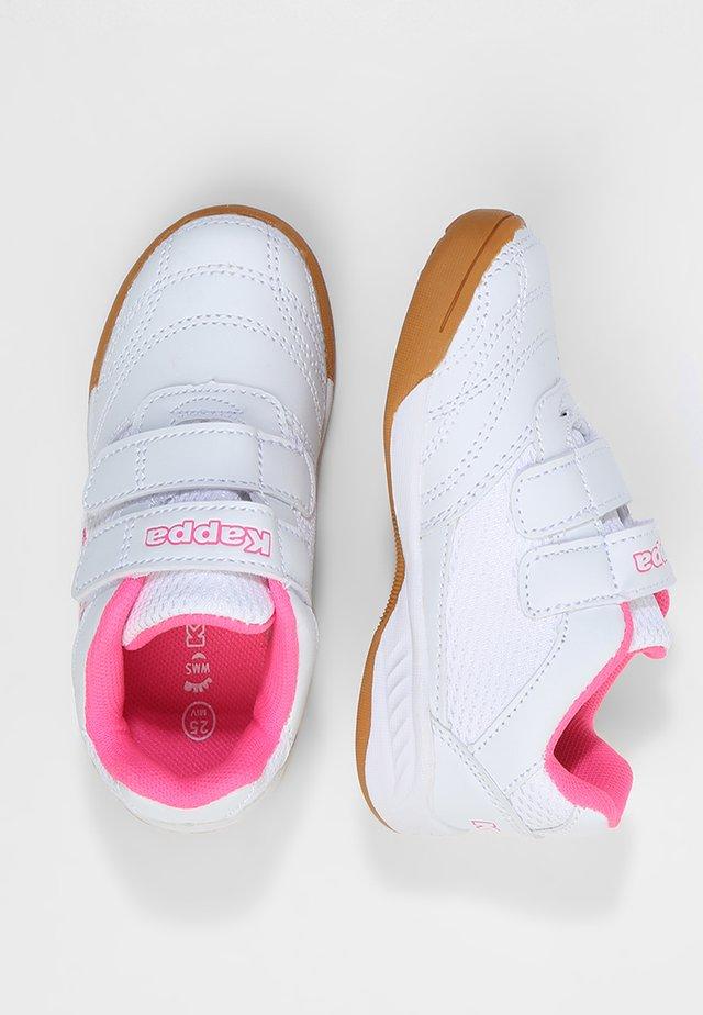 KICKOFF  - Gym- & träningskor - white/pink