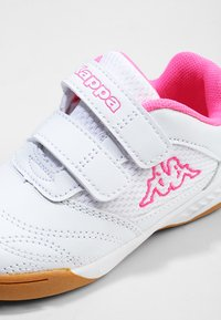 Kappa - KICKOFF  - Scarpe da fitness - white/pink - 5