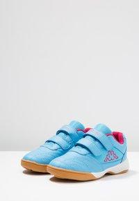Kappa - KICKOFF  - Trainings-/Fitnessschuh - light blue/pink - 3