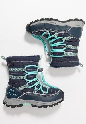 FARVEL TEX - Zimní obuv - navy/mint