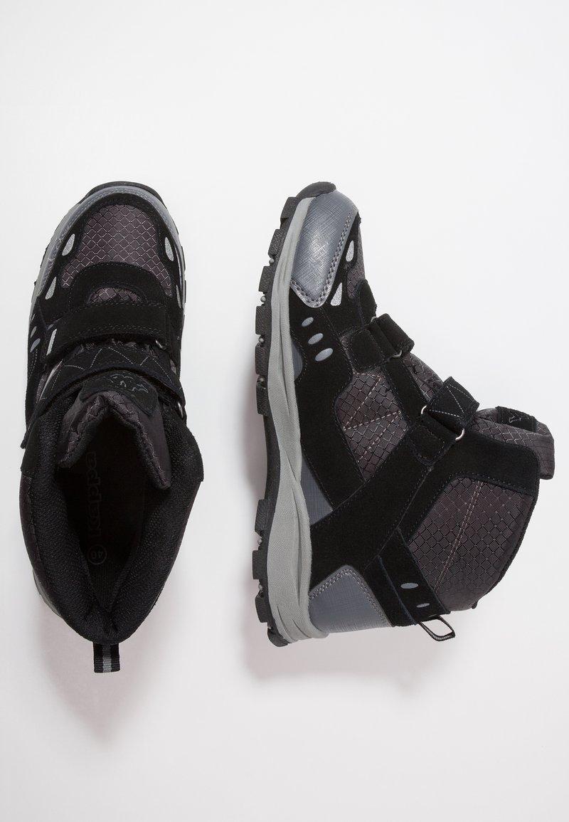 Kappa - BLISS MID II TEX - Outdoorschoenen - black/grey