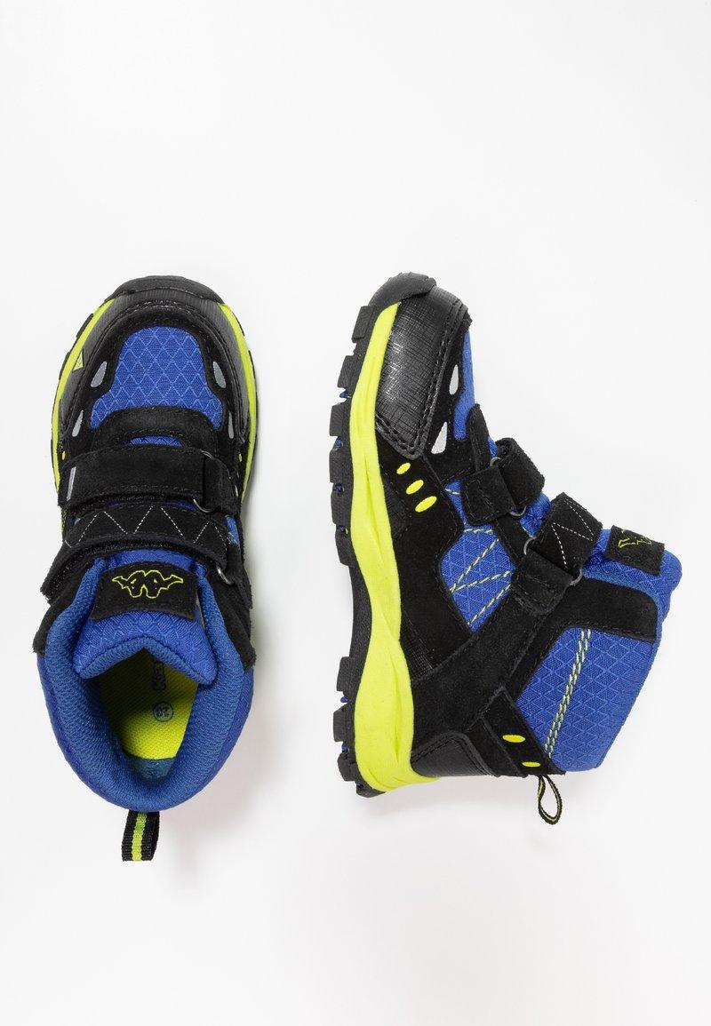 Kappa - BLISS MID II TEX - Chaussures de marche - blue/black