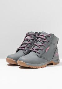 Kappa - CAMMY  - Chaussures de marche - grey/pink - 3