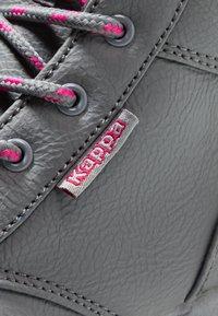 Kappa - CAMMY  - Chaussures de marche - grey/pink - 2