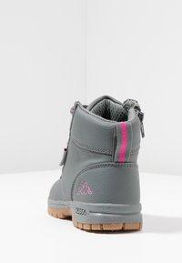 Kappa - CAMMY  - Chaussures de marche - grey/pink - 4