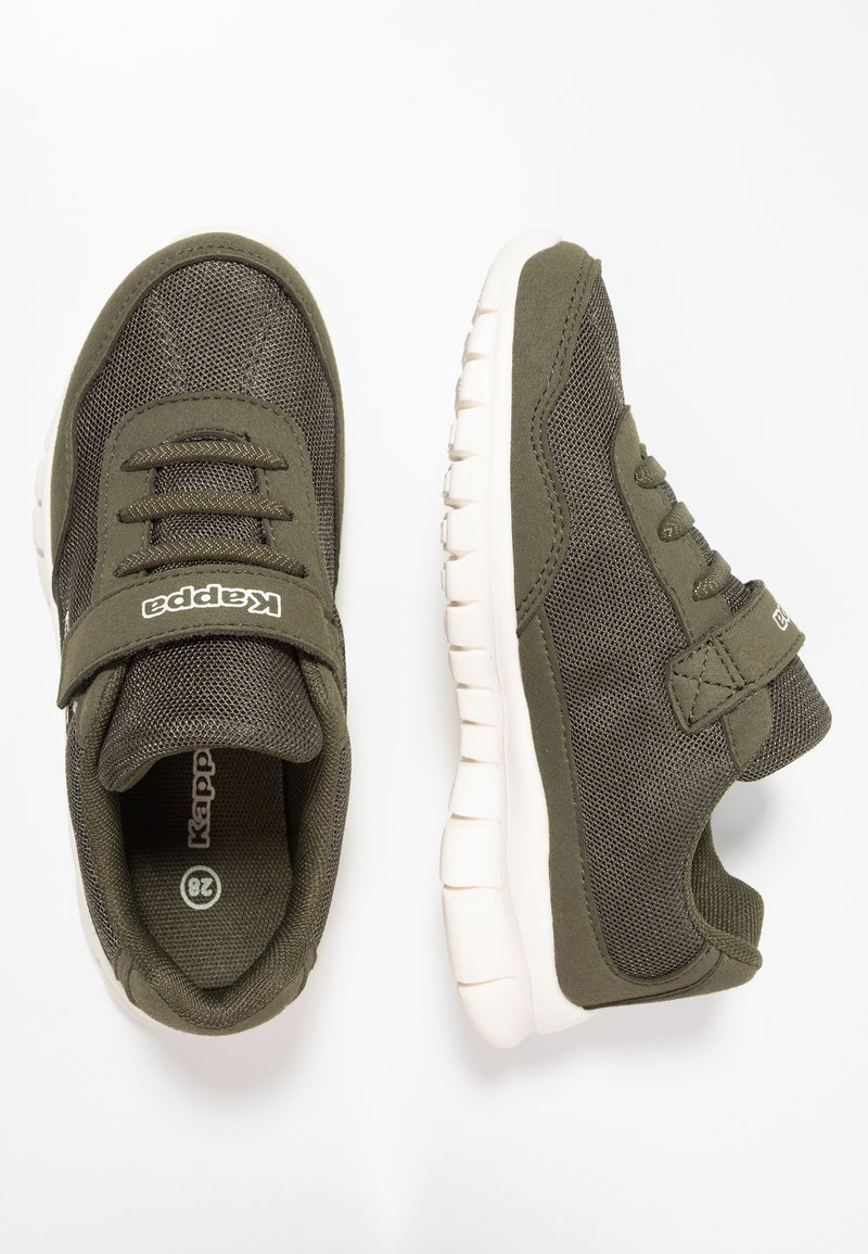 Kappa - FOLLOW - Sports shoes - army/offwhite