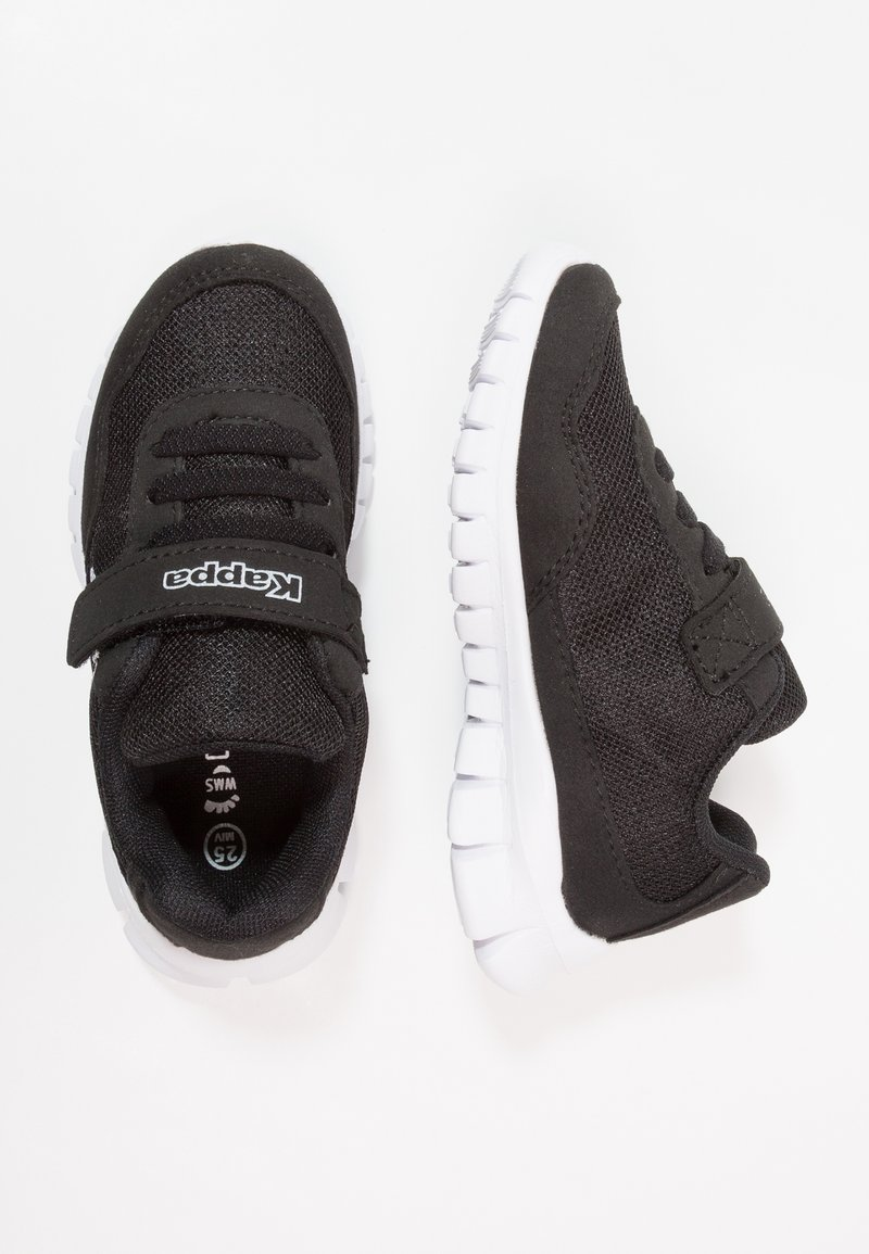 Kappa - FOLLOW - Sports shoes - black/white