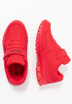 FOLLOW - Sports shoes - red/black