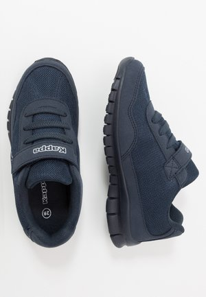 FOLLOW - Sports shoes - navy/white