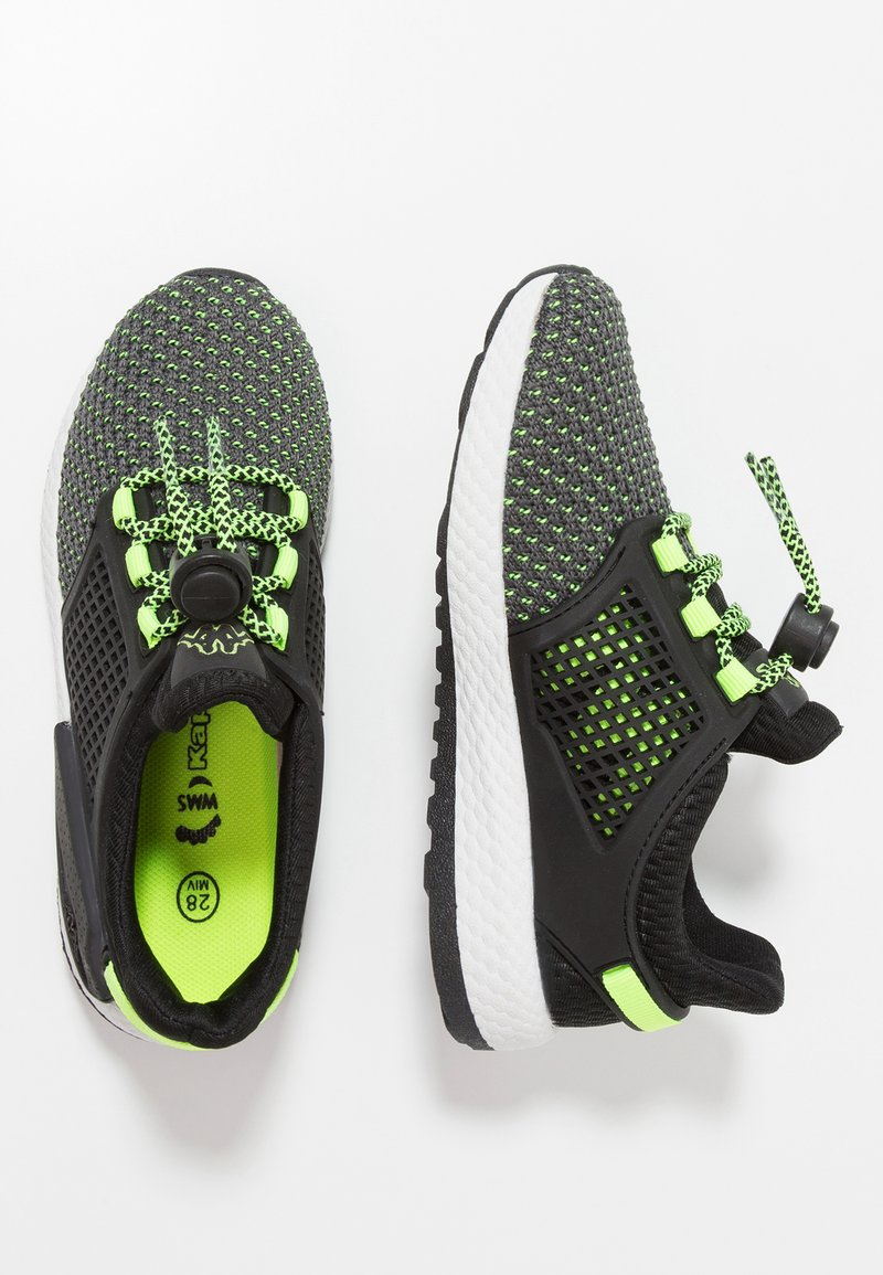 Kappa - SPACEJUMP - Trainings-/Fitnessschuh - black/lime