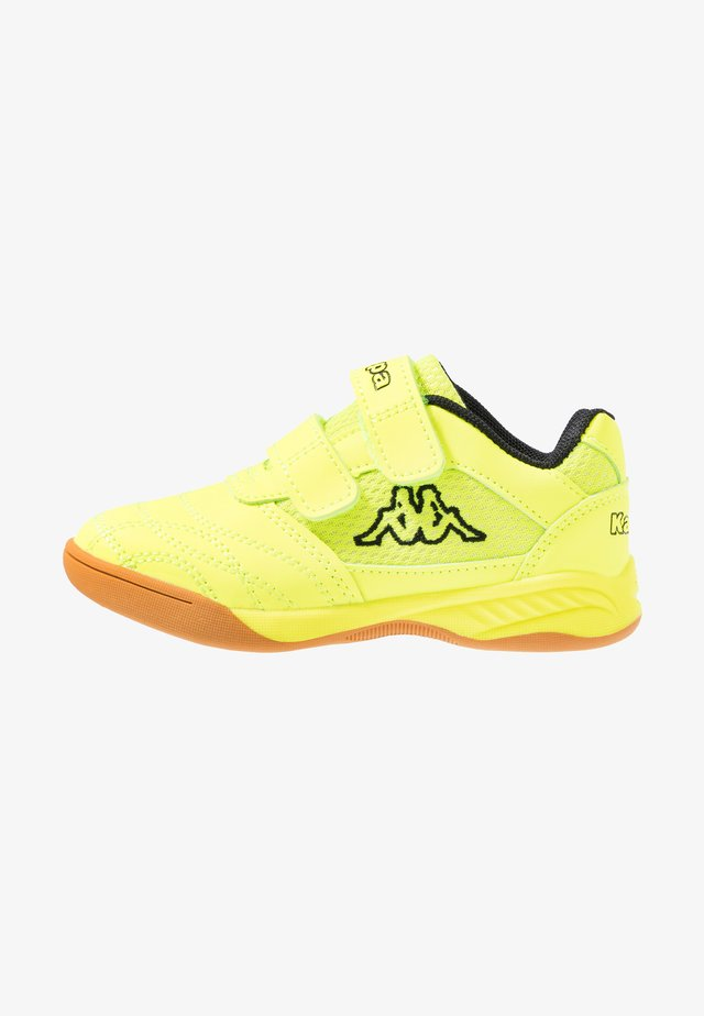 KICKOFF - Sports shoes - yellow/black