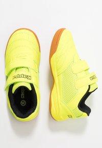 Kappa - KICKOFF OC - Scarpe da fitness - yellow/black - 1