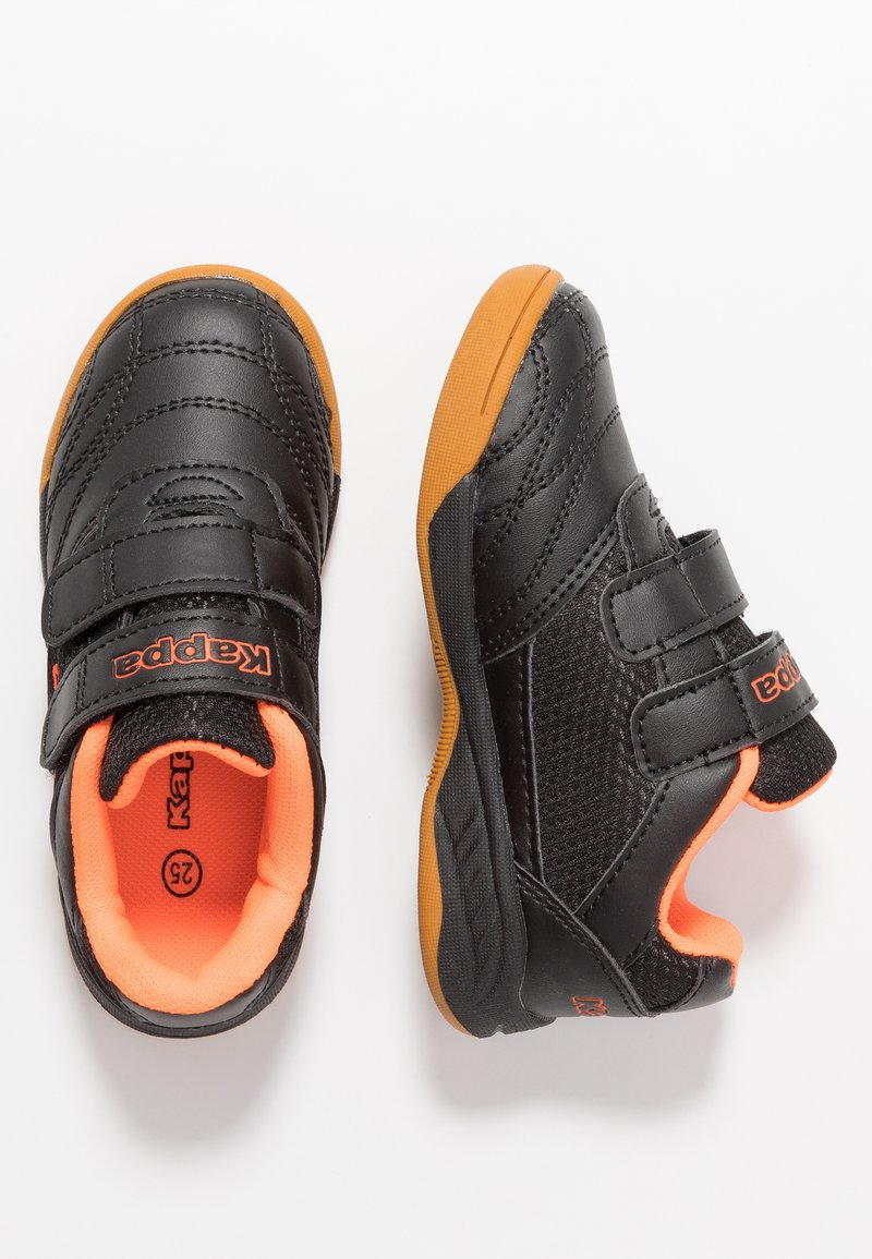 Kappa - KICKOFF OC - Sportschoenen - black/orange