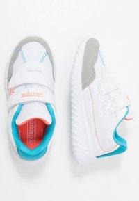 Kappa - CRACKER II  - Sportovní boty - white/orange - 0