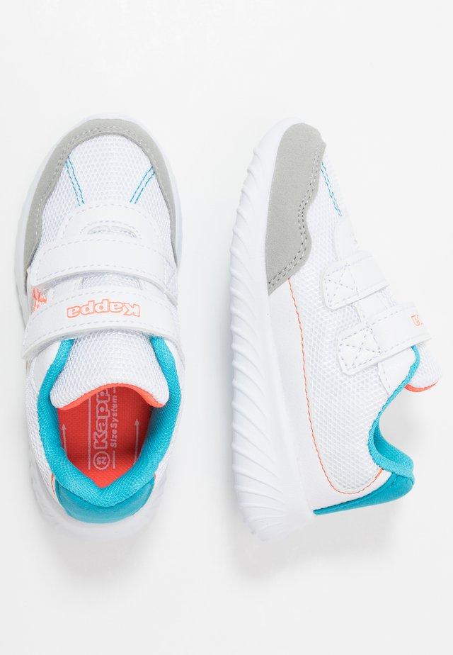CRACKER II  - Sports shoes - white/orange