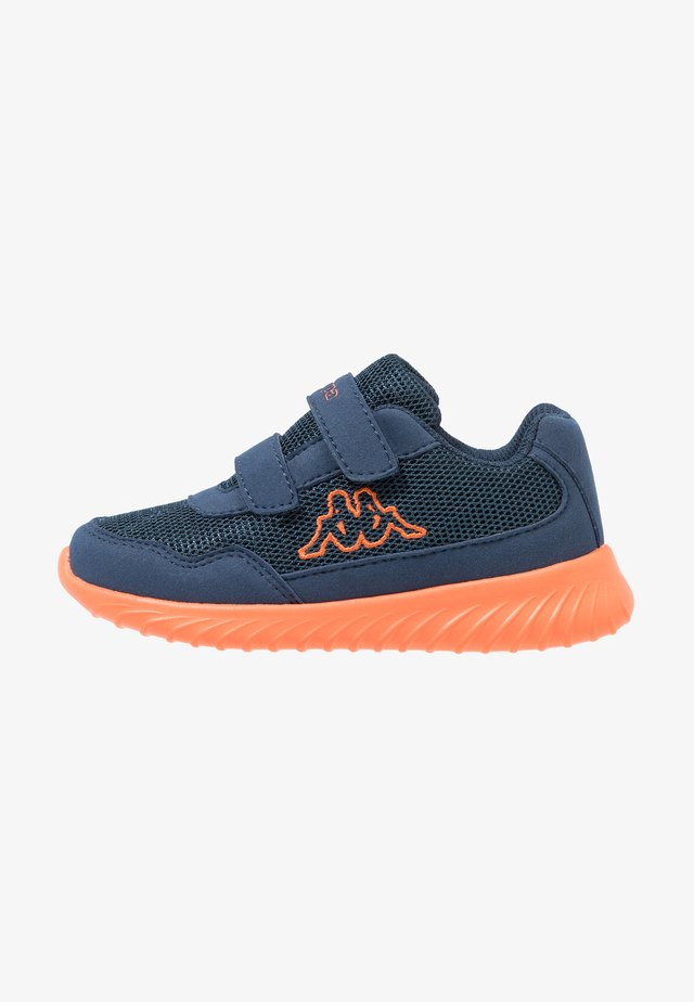 CRACKER II - Sports shoes - navy/orange