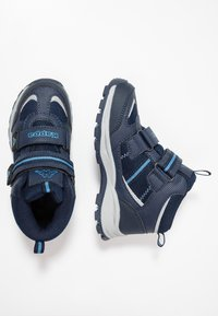 Kappa - HOVET TEX - Hiking shoes - navy/midblue - 0