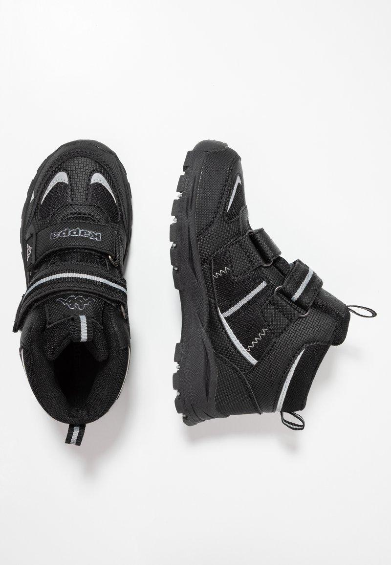 Kappa - HOVET TEX - Hikingschuh - black/silver