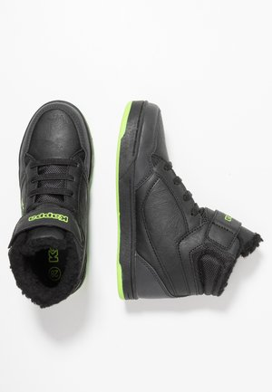 JUMPSHOT - High-top trainers - black/green