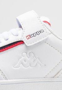 Kappa - MARABU - Scarpe da fitness - white/red - 5