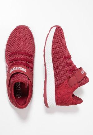 HECTOR - Scarpe da fitness - dark red/white