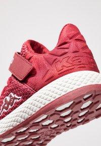 Kappa - HECTOR - Scarpe da fitness - dark red/white - 2