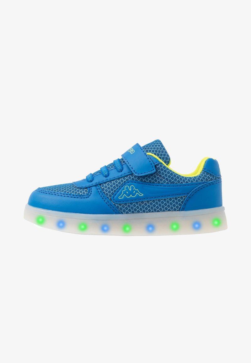 Kappa - FORE - Sportovní boty - blue/lime