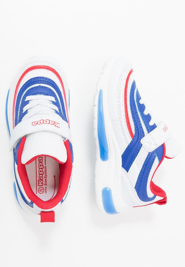 SQUINCE  - Sports shoes - white/blue