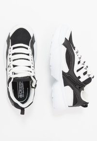 Kappa - OVERTON  - Zapatillas de entrenamiento - white/black - 0