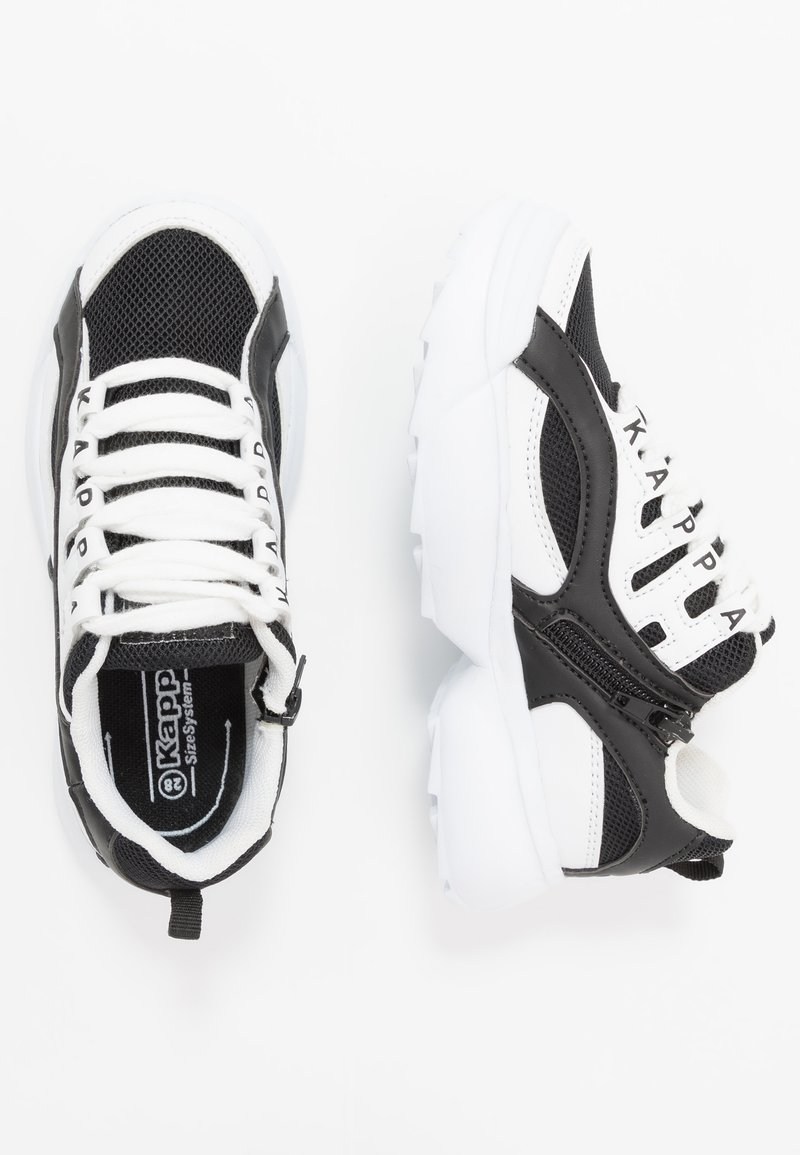 Kappa - OVERTON  - Zapatillas de entrenamiento - white/black