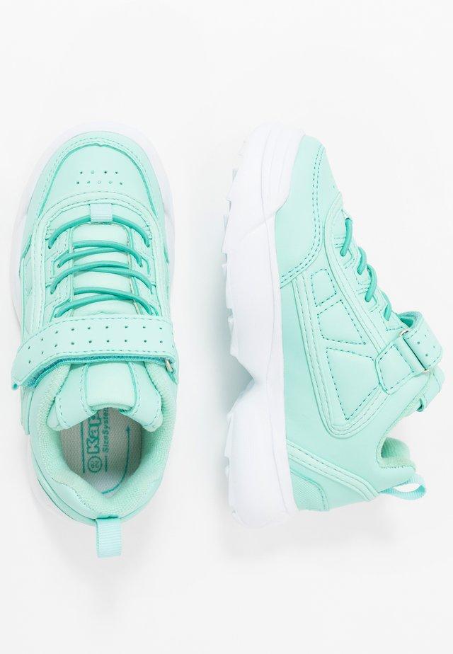 RAVE - Sportovní boty - mint/white