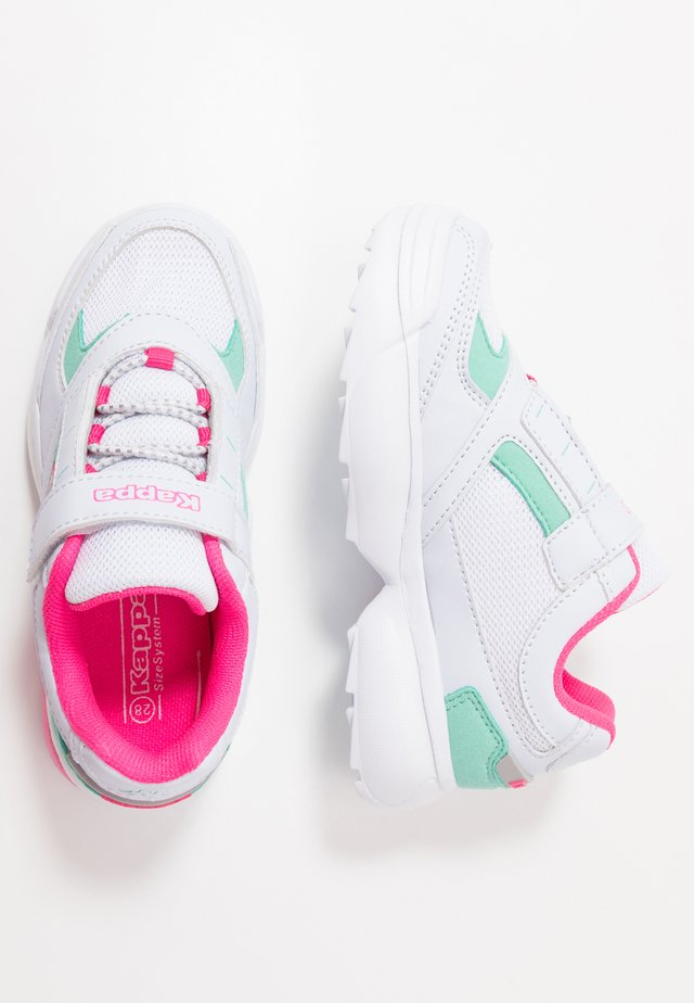 KRYPTON - Trainings-/Fitnessschuh - white/pink