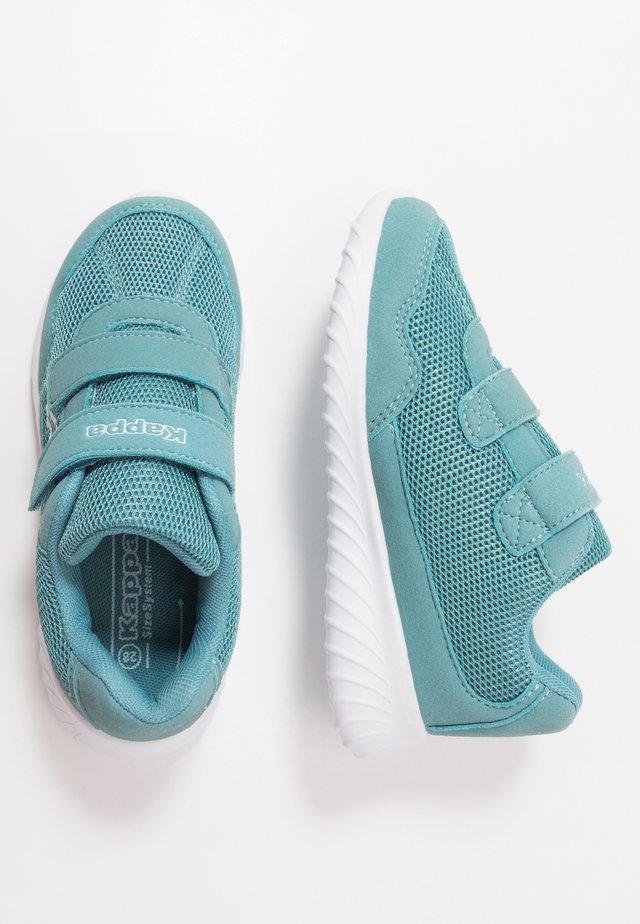 CRACKER II - Sports shoes - dark mint/white