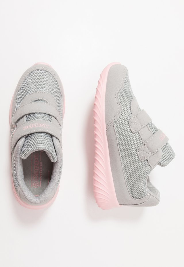CRACKER II - Sports shoes - light grey/rosé