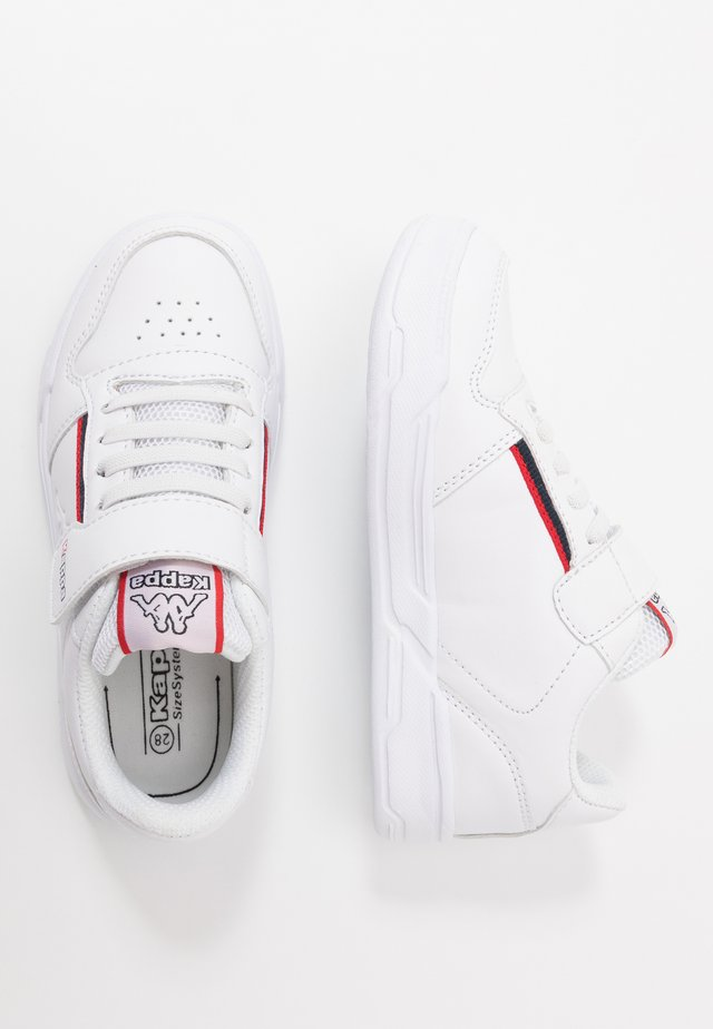 MARABU II - Sports shoes - white/red