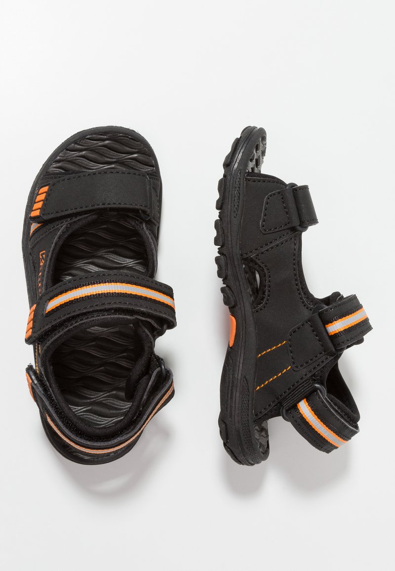Kappa - SYMI - Walking sandals - black/orange