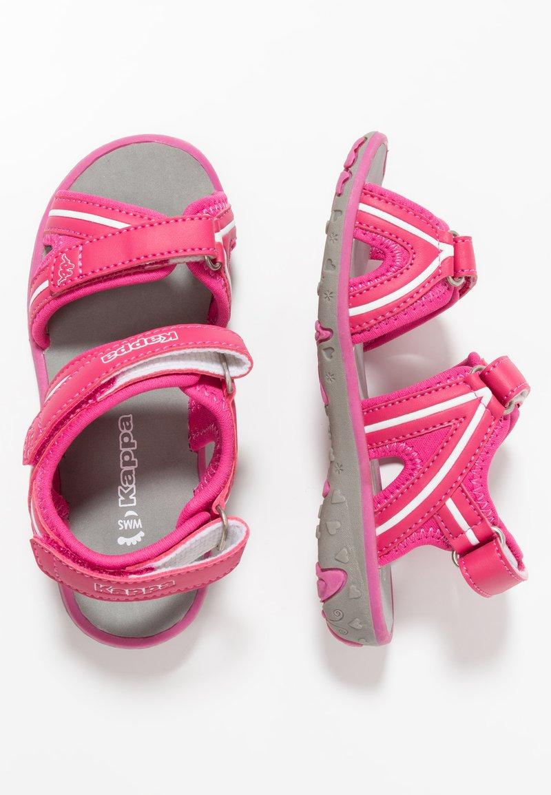 Kappa - BREEZY - Sandały trekkingowe - pink/white