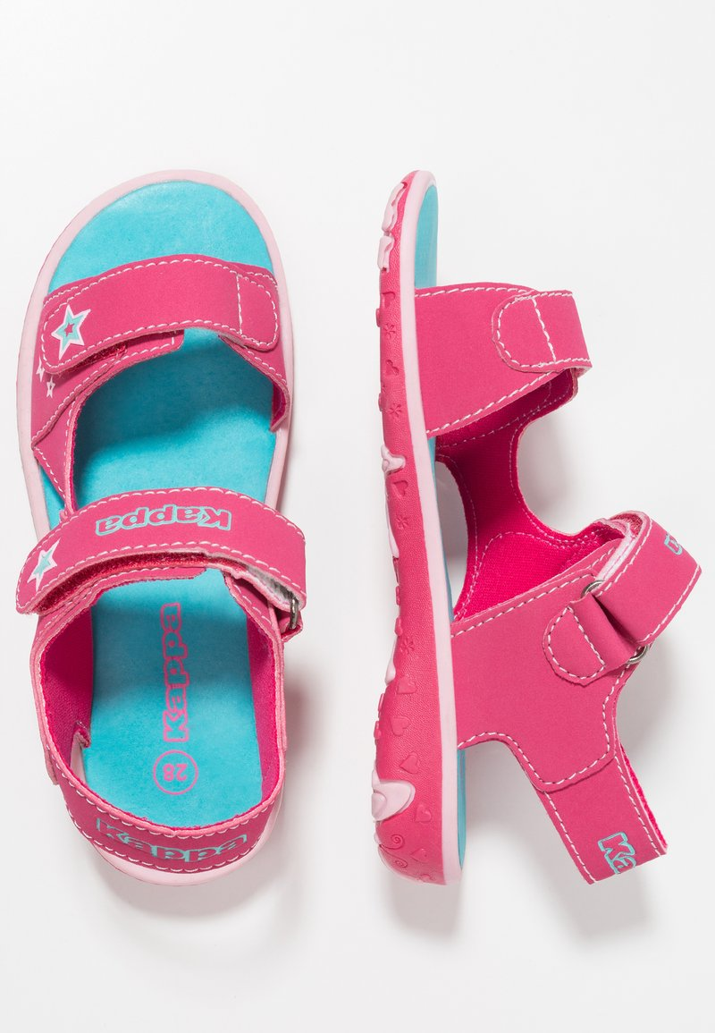 Kappa - STARWAY - Sandały trekkingowe - pink/türkis