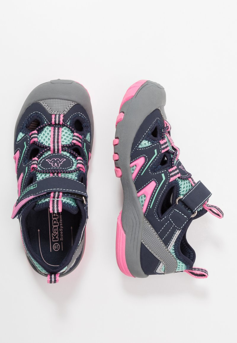 Kappa - REMINDER - Hiking shoes - grey/flamingo
