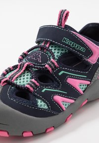 Kappa - REMINDER - Hiking shoes - grey/flamingo - 2