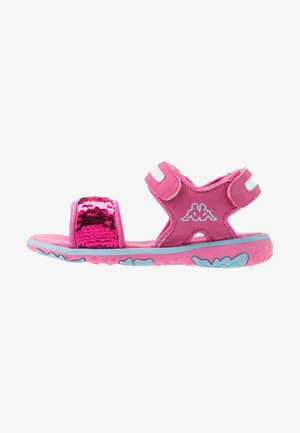 SEAQUEEN - Walking sandals - pink/blue