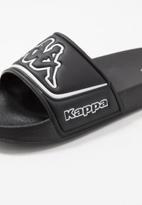 Kappa - MIRTON BEACH SET - Sandales de bain - black/white - 2