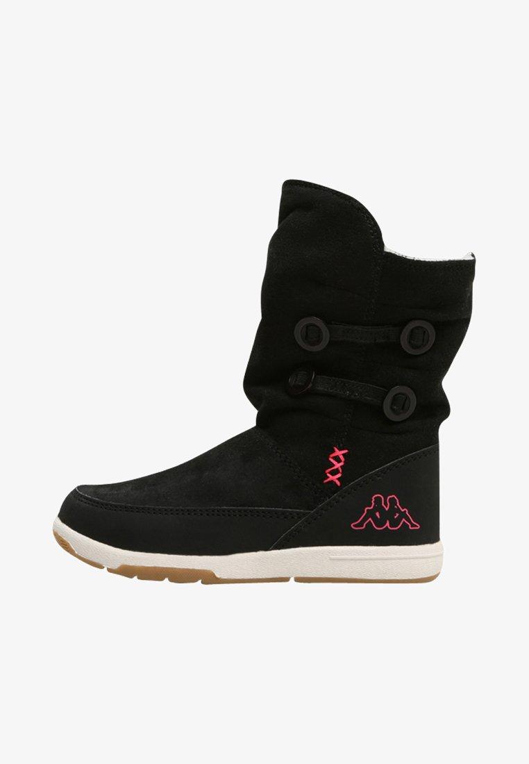 Kappa - Bottes de neige - black/pink
