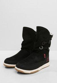 Kappa - Winter boots - black/pink - 2