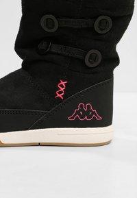 Kappa - Winter boots - black/pink - 5