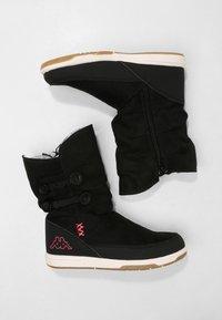 Kappa - Winter boots - black/pink - 1