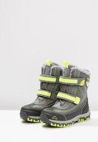 Kappa - BENTO TEX - Zimní obuv - grey/lime - 3