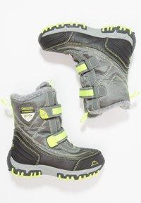 Kappa - BENTO TEX - Zimní obuv - grey/lime - 0