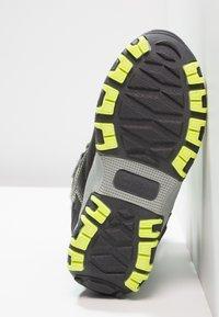 Kappa - BENTO TEX - Zimní obuv - grey/lime - 5